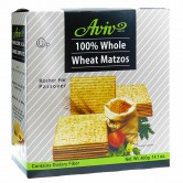 Matzo 400gr Whole Wheat Aviv KFP