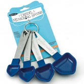 Chanukah Baking Measuring Spoons Dreidel Shaped