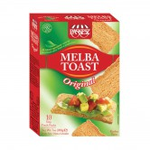 Crackers Melba Toast Original