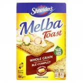 Cracker Melba Toast Whole Grain