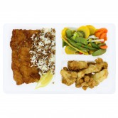 Meal Fresh 8 cod with vegetables