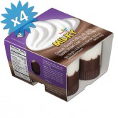 Pudding Milky Chocolate Vanilla Whipped Topping 7%