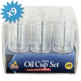 Oil Cups Plastic #11