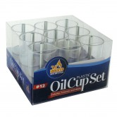 Oil Cups Plastic #12