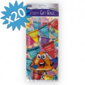 Treat Bags Plastic for Purim