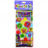 Chanukah Gift Wrapping Bags Cellophane