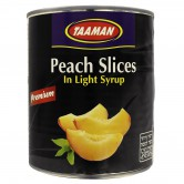 Peach Slices Premium in light Syrup
