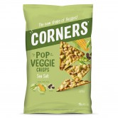 Vegetable Chips Corners Green