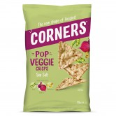 Vegetable Chips Corners Red