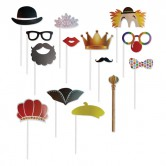 Purim Photo booth Props