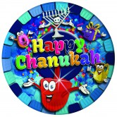 Chanukah Tableware Paper Plates Large