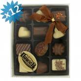 Chocolate Pralines Milk Hauser 12PCS