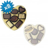 Chocolate Pralines Milk Hauser 8PCS