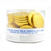 Chanukah Chocolate Coins Milk