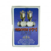 24 neronim shabbath candles