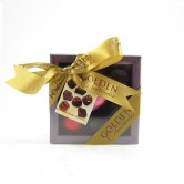 Chocolate Pralines Golden 9PCS