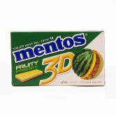 Candy Gum Mentos 3D Fruit Yellow