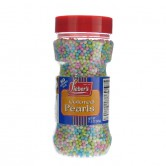 edible colored pearls