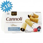 Cannoli Chocolate Lined Rolled Wafers