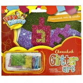 Chanukah Craft Glitter Art