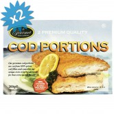 Fish Cod Portions Breaded Frozen
