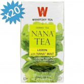 Tea Wissotzky Lemon Nana Mint