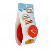 Sponge Scouring Ball Shabbos Red