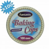 baking cups white