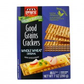 Crackers Good Grain Whole Wheat