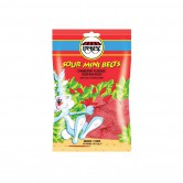 Candy Jelly sour Belts Mini Raspberry
