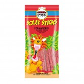 Candy Jelly Sour Sticks Strawberry