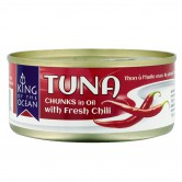 Tuna Chunks with Chili in Oil