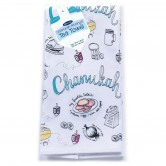 Chanukah Cooking Tea Towel