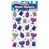 Chanukah Stickers Glitter