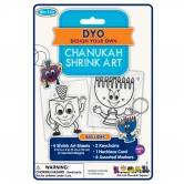 Chanukah Craft Shrink Art
