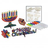 Chanukah Craft Wood Project