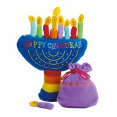 Chanukah Toy Soft Play Menorah