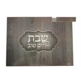 Challah Board Grey + Knife