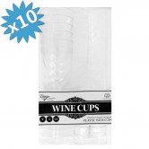Cups Wine Disposable Silver