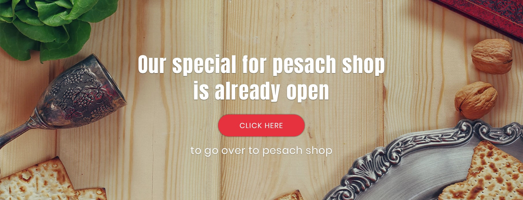 Pesach Homepage Banner